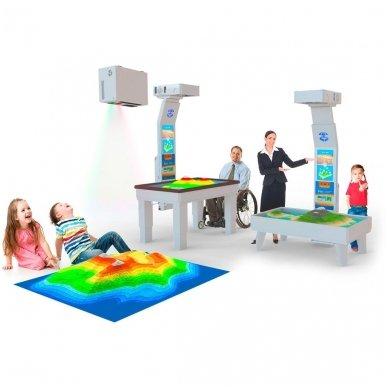Interaktyvi smėlio dėžė terapijai ir ugdymui SandBox Small 4