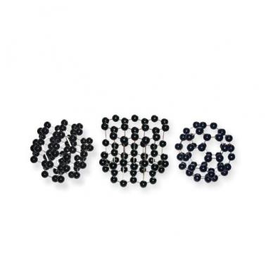 3 anglies molekulių rinkinys