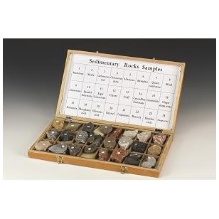 Akmenų ir nuosėdinių uolienų rinkinys