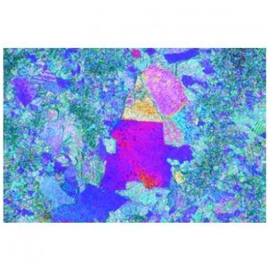 Akmenų ir mineralų objektinių stiklelių mikroskopui rinkinys nr.1 4