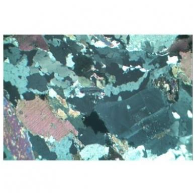 Akmenų ir mineralų objektinių stiklelių mikroskopui rinkinys nr.1 5