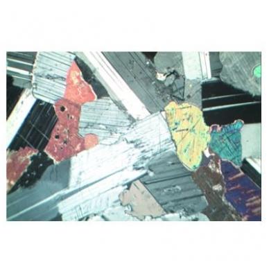 Akmenų ir mineralų objektinių stiklelių mikroskopui rinkinys nr.1