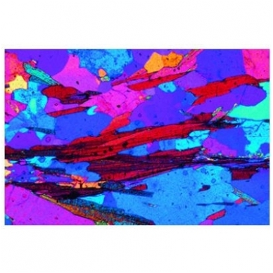 Akmenų ir mineralų objektinių stiklelių mikroskopui rinkinys nr.2 2