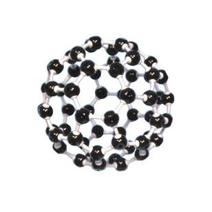 Anglies molekulės C60 modelis