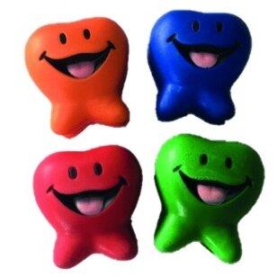 Antistresiniai ,,kamuoliukai' besišypsančio dantuko formos