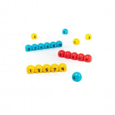 Aritmetinių veiksmų magnetinis žaidimas 2