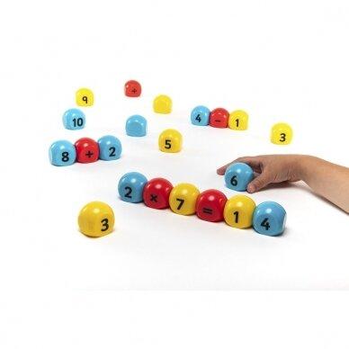 Aritmetinių veiksmų magnetinis žaidimas 3