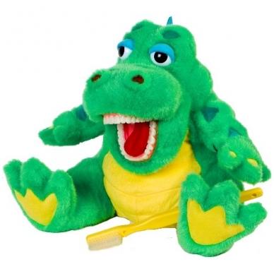 """Dantų priežiūros bičiulis """"Krokodiliukas"""""""