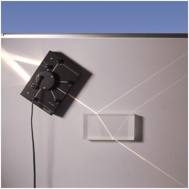 Daugelio spindulių projektorius, magnetinis