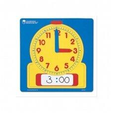 Demonstracinis laikrodis su rašymo/ valymo funkcija