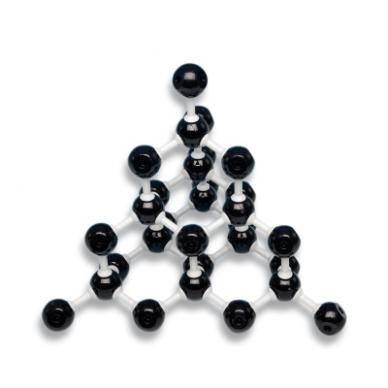 Deimanto molekulinis modelis