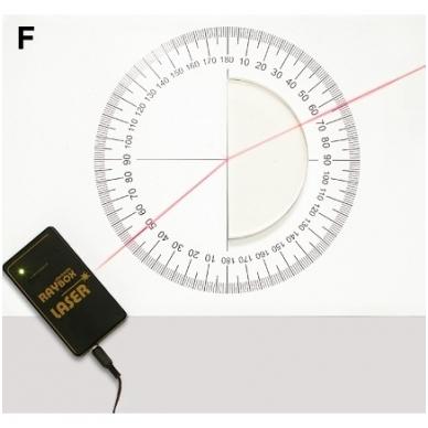 """Demonstracinis rinkinys """"Geometrinė optika"""" magnetinei lentai 3"""