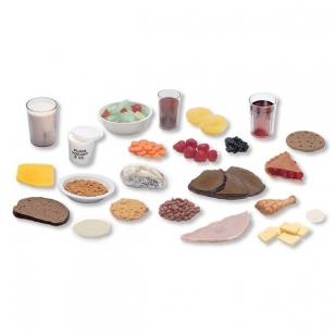 Dirbtinų maisto pavyzdžių bazinis paketas (23 vnt.)
