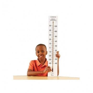 Didelis mokyklinis termometras 2