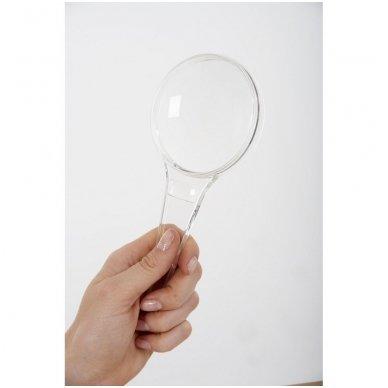 Didelis padidinimo stiklas 80mm (3x ir 5x)