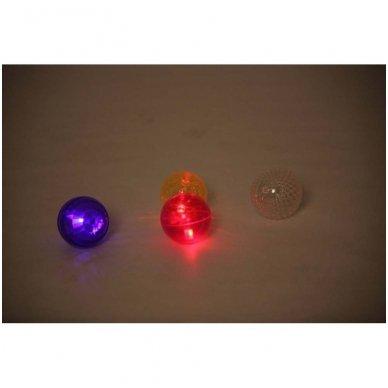 Didelių tekstūruotų šviečiančių kamuolių rinkinys - Pk4 4