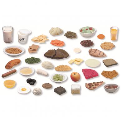 Dirbtinų maisto produktų pakuotė (diabetikams) (39 vnt.)