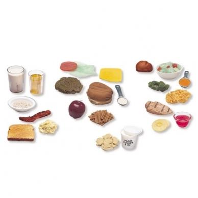 """Dirbtinų maisto produktų pakuotė """"Trys subalansuoti valgiai"""" (24 vnt.)"""