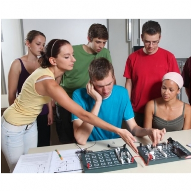"Eksperimentų rinkinys ""Elektronika"" 7-12 klasei 3"
