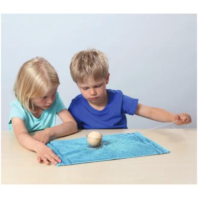Eksperimentų rinkinys su svirtimi, skriemuliu ir magnetais 4-7 amžiaus vaikams 2