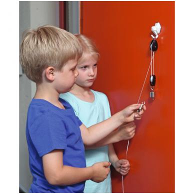 Eksperimentų rinkinys su svirtimi, skriemuliu ir magnetais 4-7 amžiaus vaikams 3