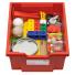 Eksperimentų rinkinys su svirtimi, skriemuliu ir magnetais 4-7 amžiaus vaikams