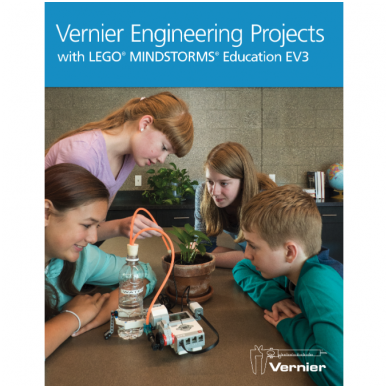 """El. lab. knyga """"Vernier"""" inžineriniai projektai su """"LEGO® MINDSTORMS® Education EV3"""", anglų kalba"""