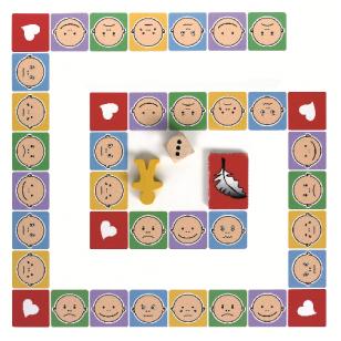 Emocijų pažinimo domino