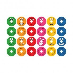 Emocijų spurgos formos pagalvėlės su vėžimėliu