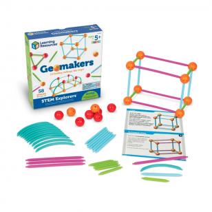 """Geometrinių formų konstravimo rinkinys ,,STEM mažasis tyrėjas"""""""