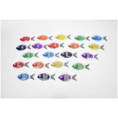 Gelinės žuvytės - skaičiukai 2