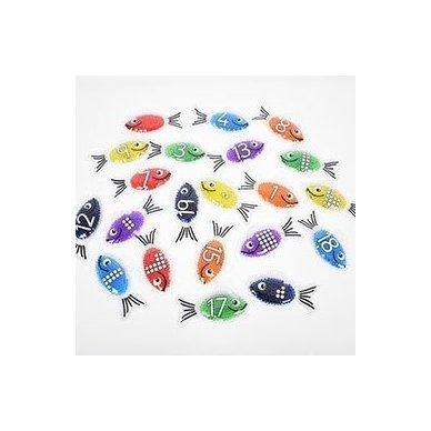 Gelinės žuvytės - skaičiukai