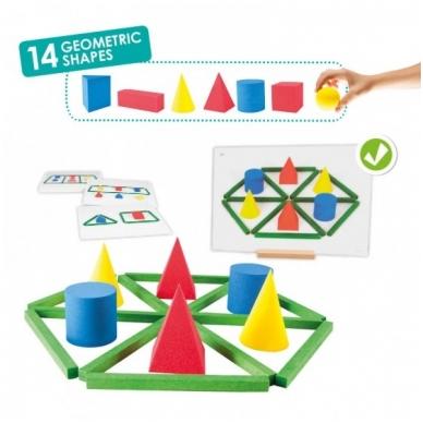 Geometrinių formų kūrimo rinkinys