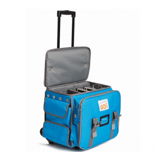 GO2 lagaminas su 6 įrenginių krovimo sistema