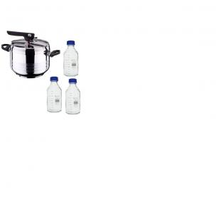 Greitpuodžio ir butelių rinkinys
