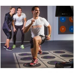 Interaktyvi fizinio aktyvumo sistema Combo 3.0