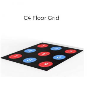 """Interaktyvios grindys ir sienelė """"Treniruokis šviesos ir garso ritmu"""""""