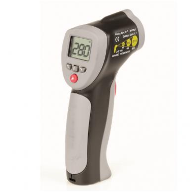 Infraraudonųjų spindulių termometras, iki 380 °C