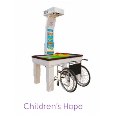 Interaktyvi smėlio dėžė terapijai ir ugdymui SandBox Hope