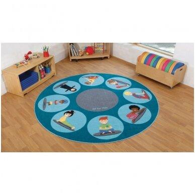 Jogos pozų kilimėlis 3