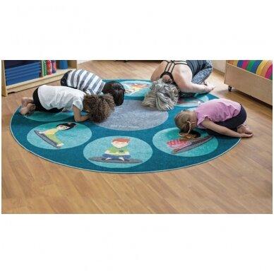Jogos pozų kilimėlis 2