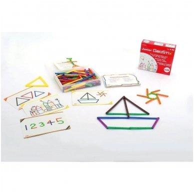 """Konstravimo lazdelės ,,Junior GeoStix"""" - Pk200"""