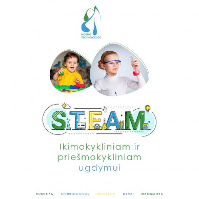 """Katalogas """"STEAM Ikimokykliniam ir priešmokykliniam ugdymui"""""""