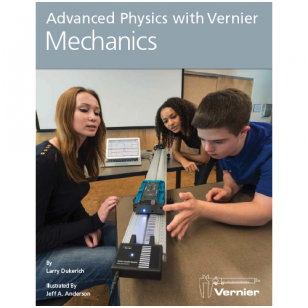 "Knyga "" Advanced Physics with Vernier — Mechanics"" (Mechanika – pažangioji fizika su Vernier ), Anglų kalba"