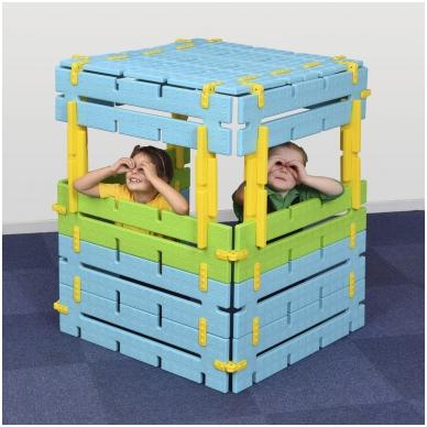 Konstruojama slėpykla vaikams 2
