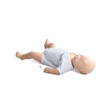 """Kūdikio gaivinimo manekenas """"Resusci Baby QCPR"""" su veiksmų vadovu"""