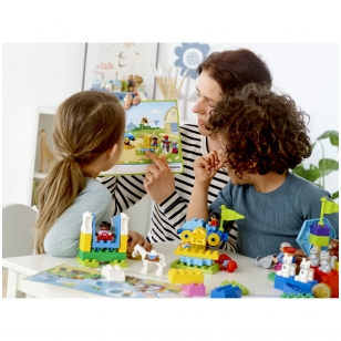 """LEGO® Education kaladėlių rinkinys """"Steam Park"""""""