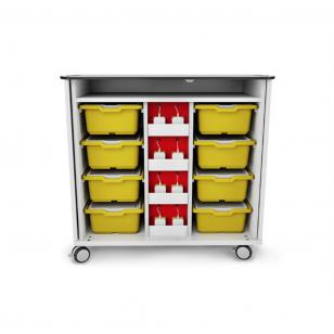 Lego® Spike įkrovimo ir saugojimo mobilus vežimėlis