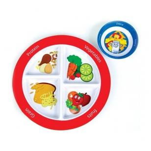 Lėkštė ir dubenėlis (vaikiški)