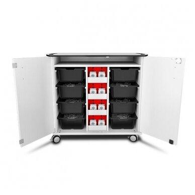 """LEGO """"Mindstorms EV4"""" įkrovimo vežimėlis, rakinamas"""